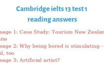 cambridge ielts 13 reading keywords table