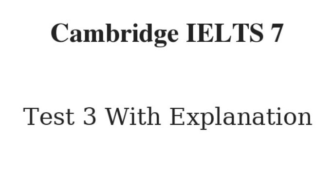 cambridge ielts 7 reading test 3 with answers